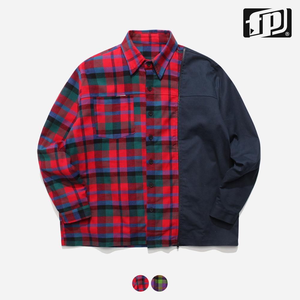 [페플] 도킹체크 셔츠 2종 JHLS1153