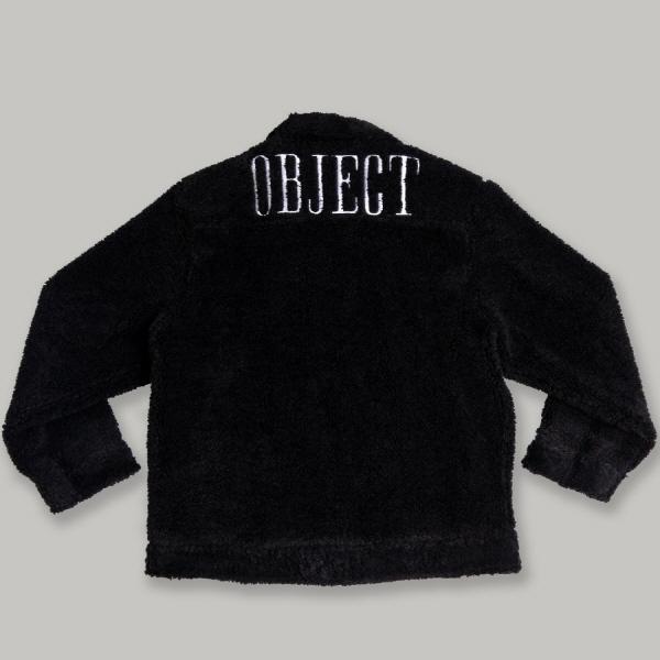 [OBJECT] SHERPA TRUCKER JACKET (BLACK)