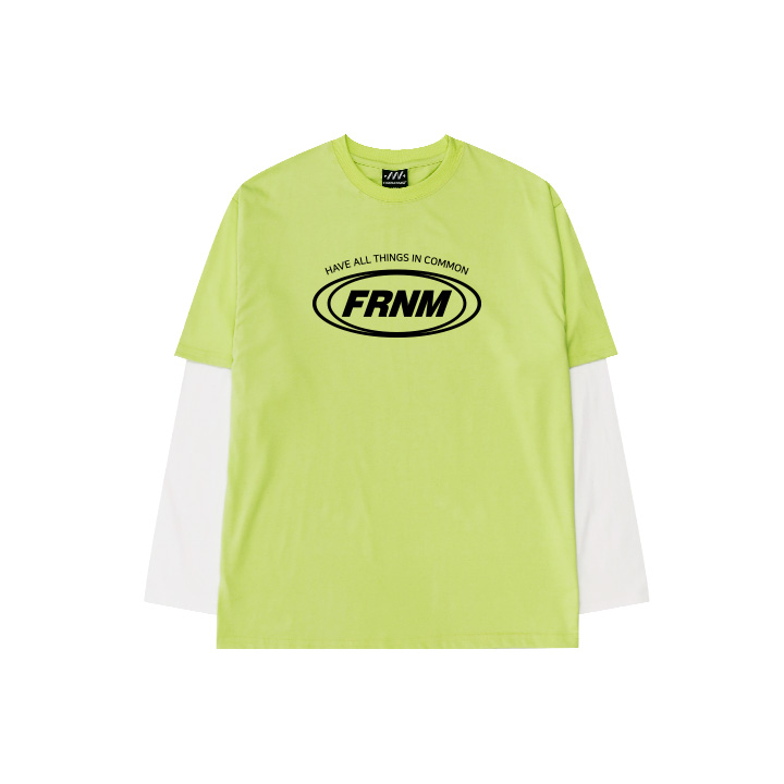 FRNM 레이어드 긴팔 티셔츠