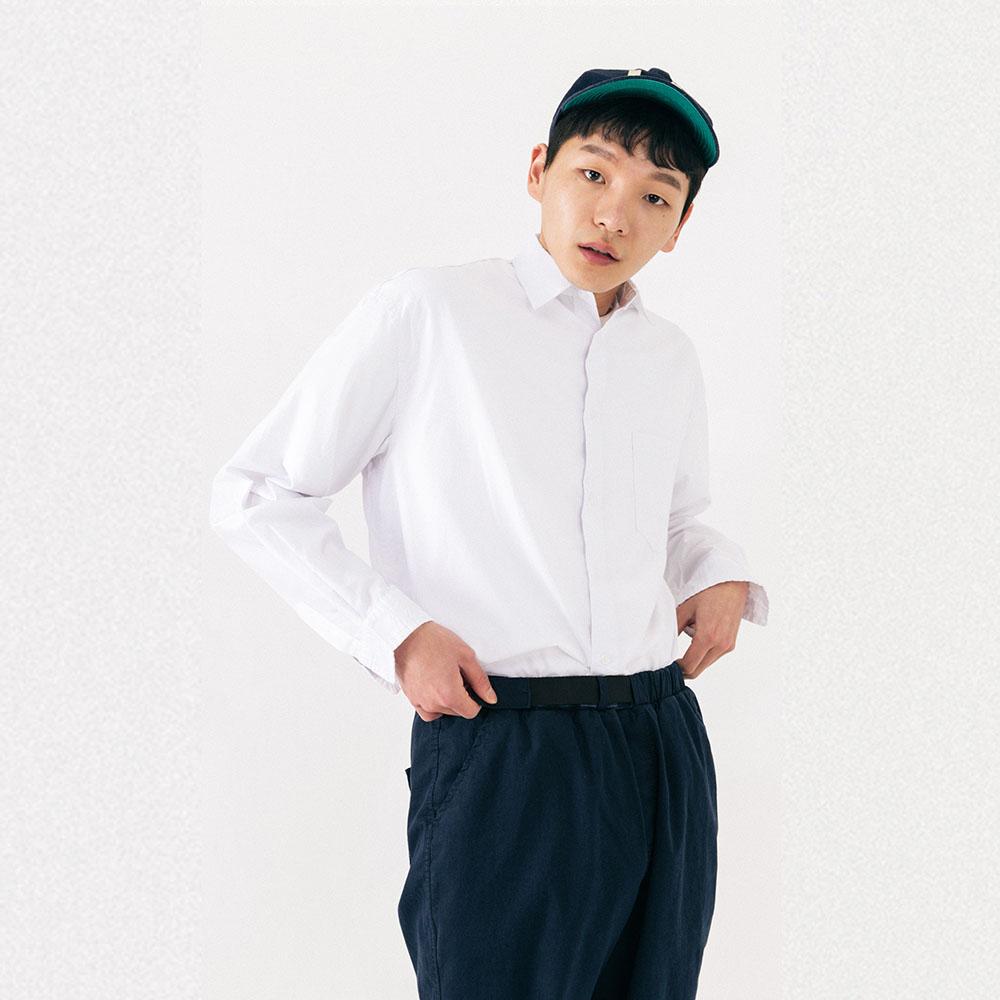 하쿠시 셔츠 (WHITE)