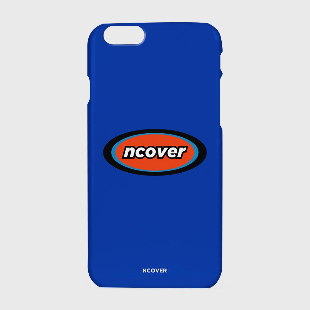 [앤커버] Rubber logo-blue