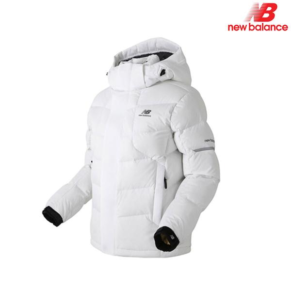 뉴발란스 NBNP641022-WH 여성 스트레치 덕다운 자켓 패딩 자켓