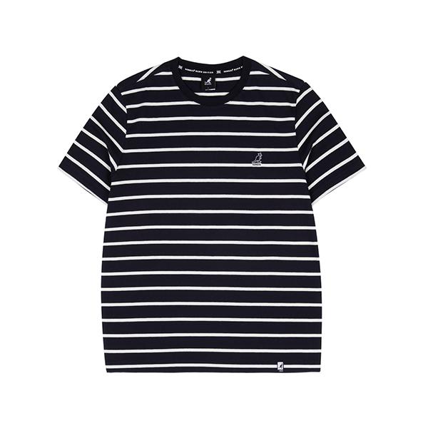 Basic Pin Stripe T-Shirt 2599 NAVY