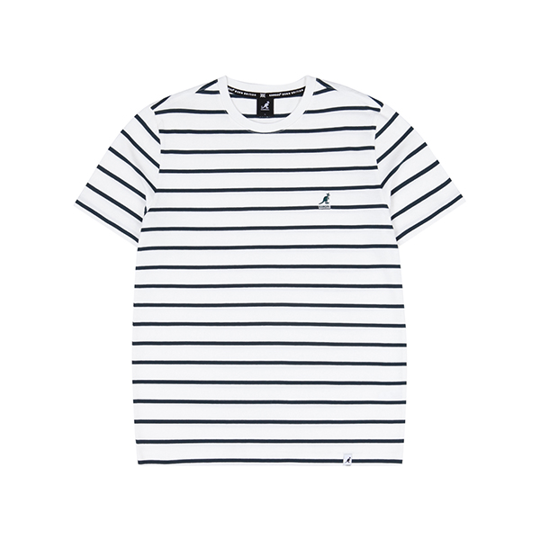 Basic Pin Stripe T-Shirt 2599 IVORY