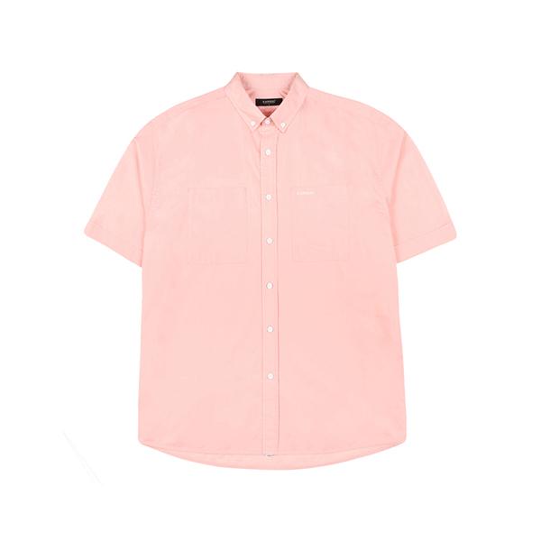 Baisc Short Sleeve Shirt 7034 PINK