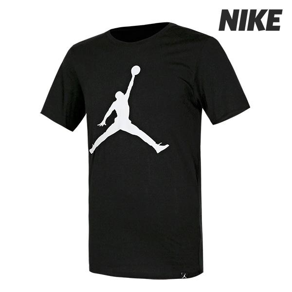 나이키 조던 점프맨 반팔 티셔츠 블랙 (908017-010)