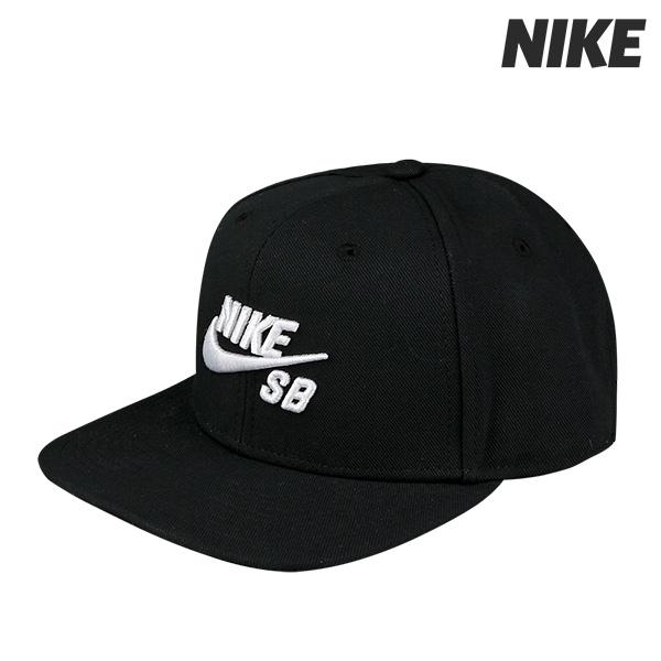 나이키 프로 SB 스냅백 모자 블랙 (628683-013)