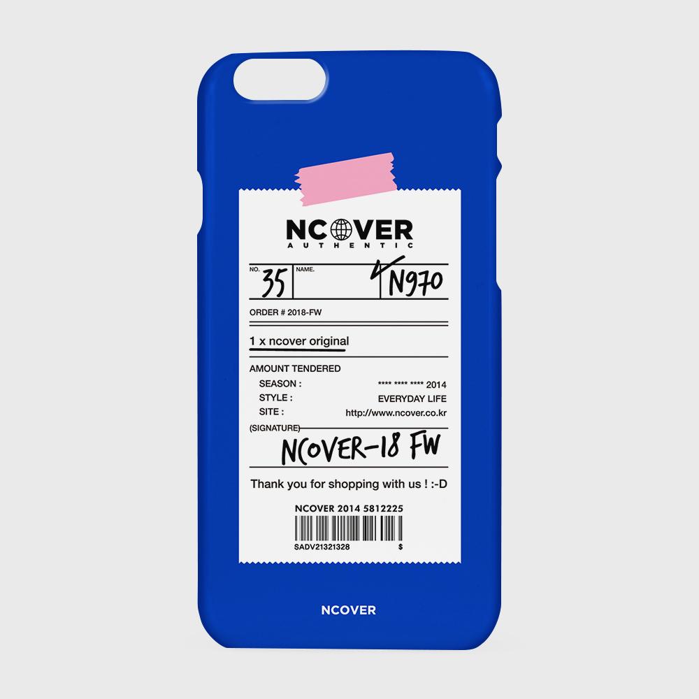 [앤커버] Authentic barcode-blue