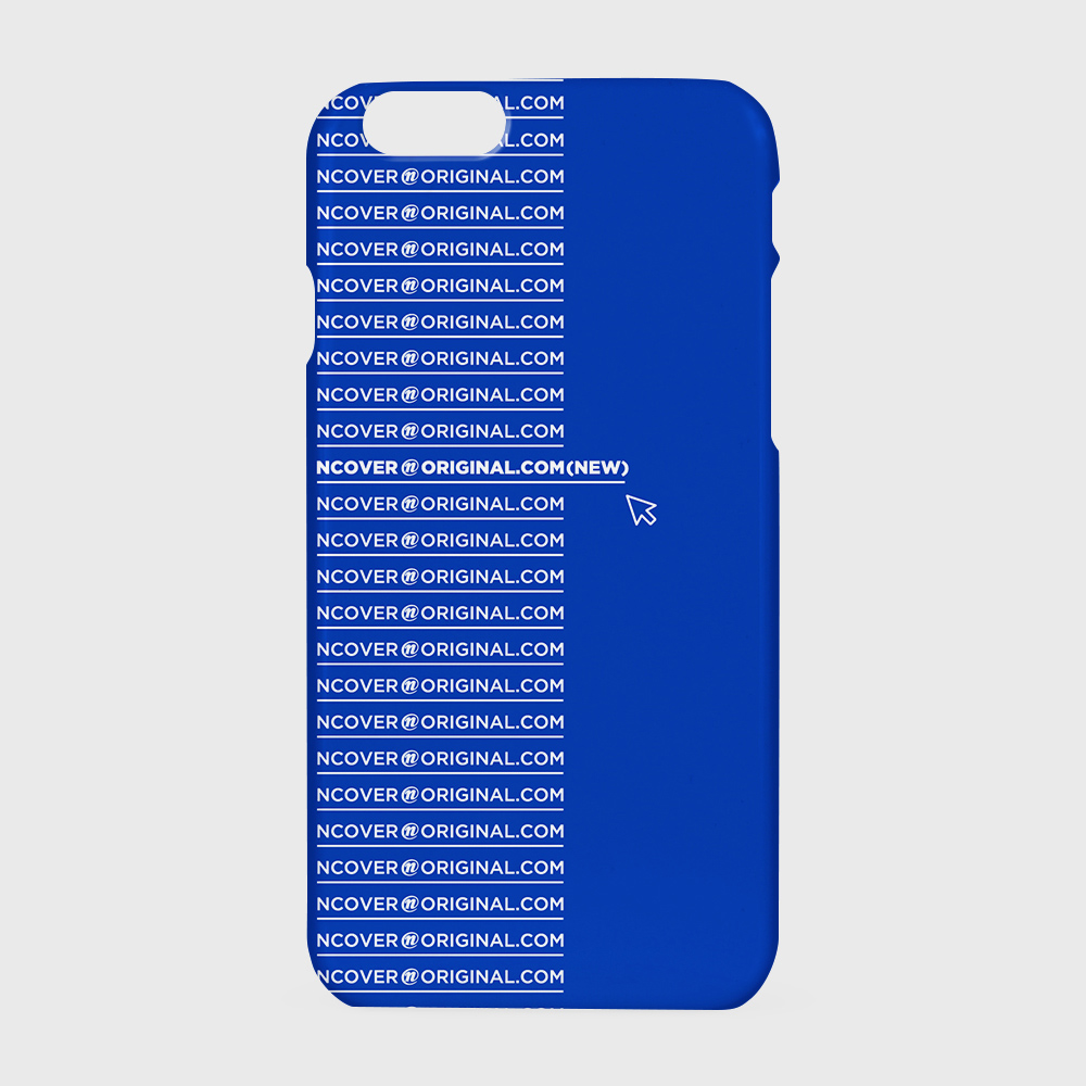 [앤커버] e-mail cursor-blue