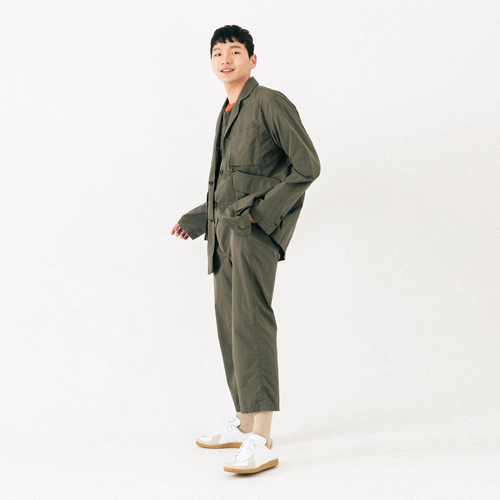 쿄노 우치나 브릿지 팬츠 셋업 (KHAKI)