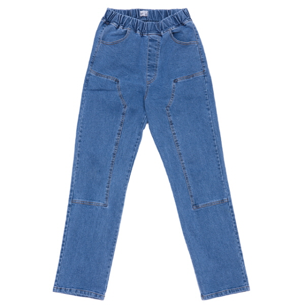 BAND DENIM PANTS (연청)