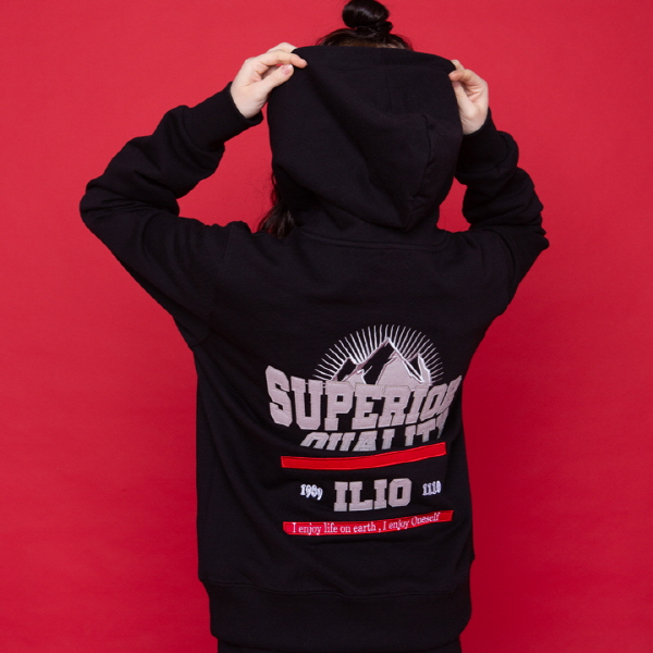 SUPERIOR HOOD TEE (블랙)