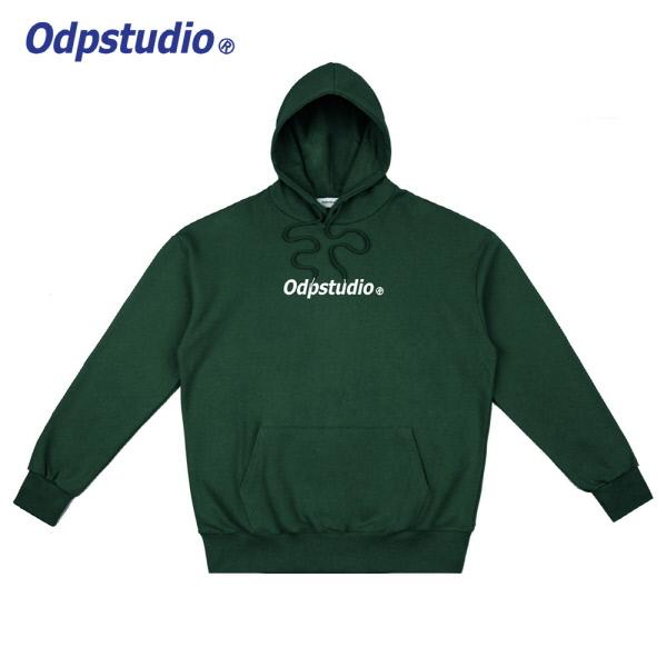 Odp Center Logo Hoodie Green