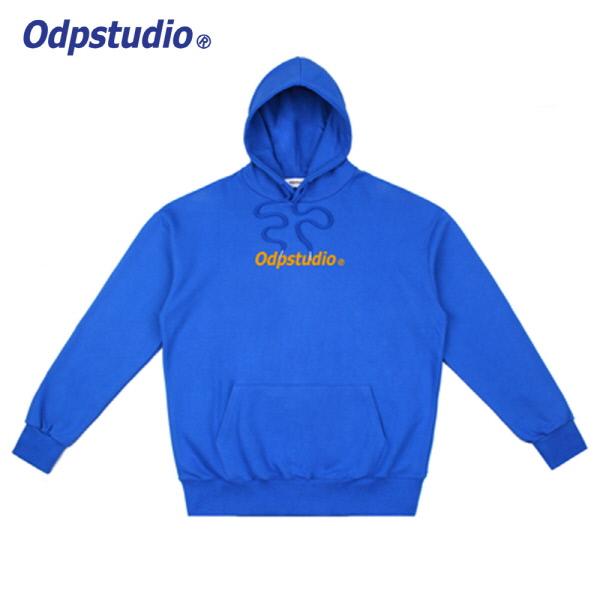 Odp Center Logo Hoodie Blue