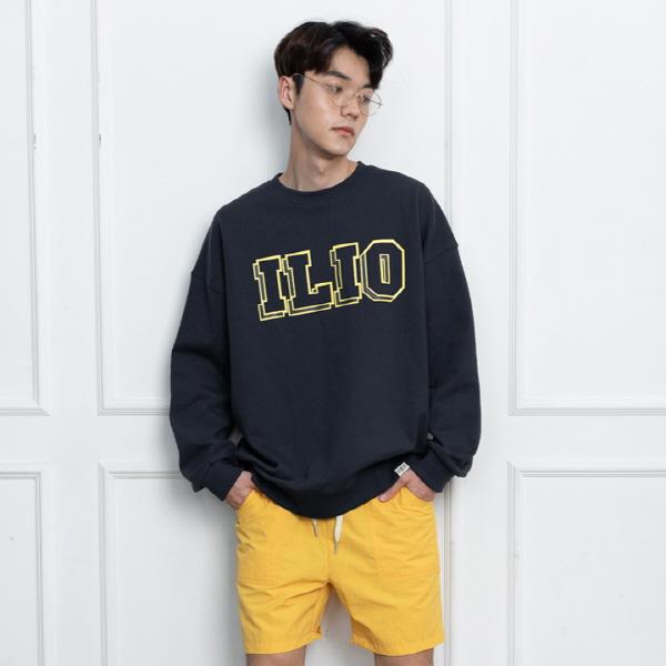 ILIO SHADOW SWEAT SHIRT 네이비