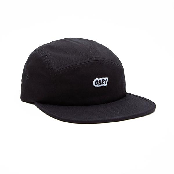 오베이 모자 SLEERPER CAMP CAP 100490052 BLACK