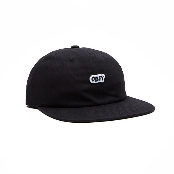 [결산세일]오베이 모자 SLEEPER 6 PANEL 100580174 BLACK