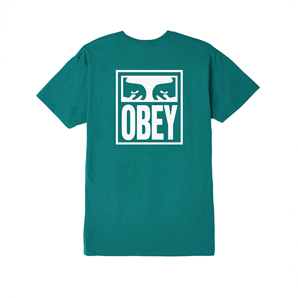 오베이 반팔 OBEY EYES ICON 163081874 TEAL