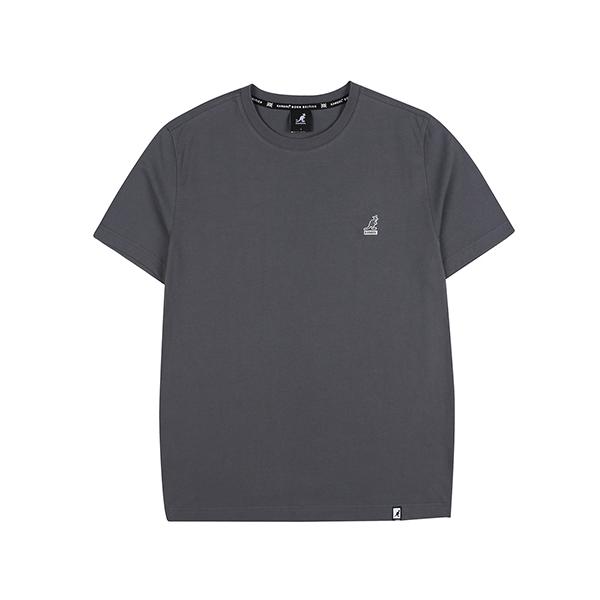 Basic Club Short Sleeves T 2565 CHARCOAL