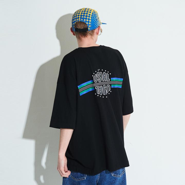 [단독할인]XTT005 스텔라 오버사이즈 티셔츠 (BLACK)