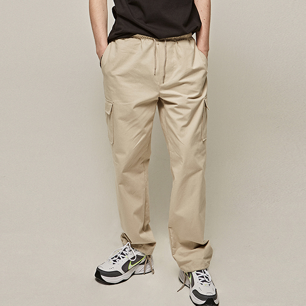 TRAINING CARGO PANTS_CREAM
