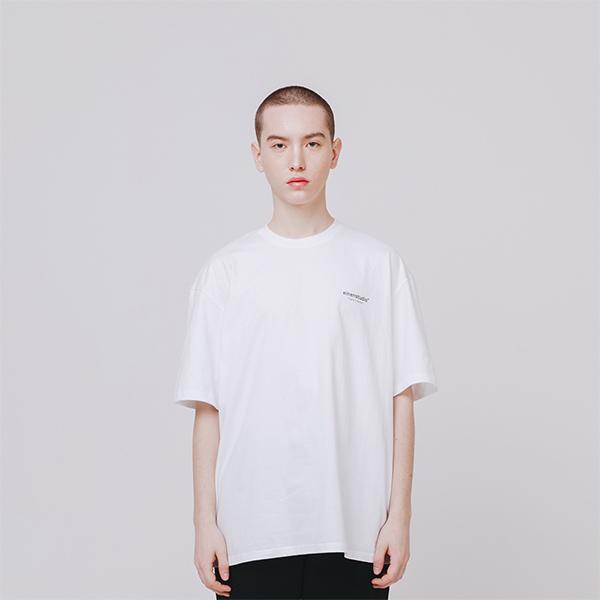 오리지날 로고 티셔츠 화이트