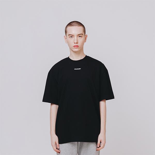 센터포인트 로고 티셔츠 블랙