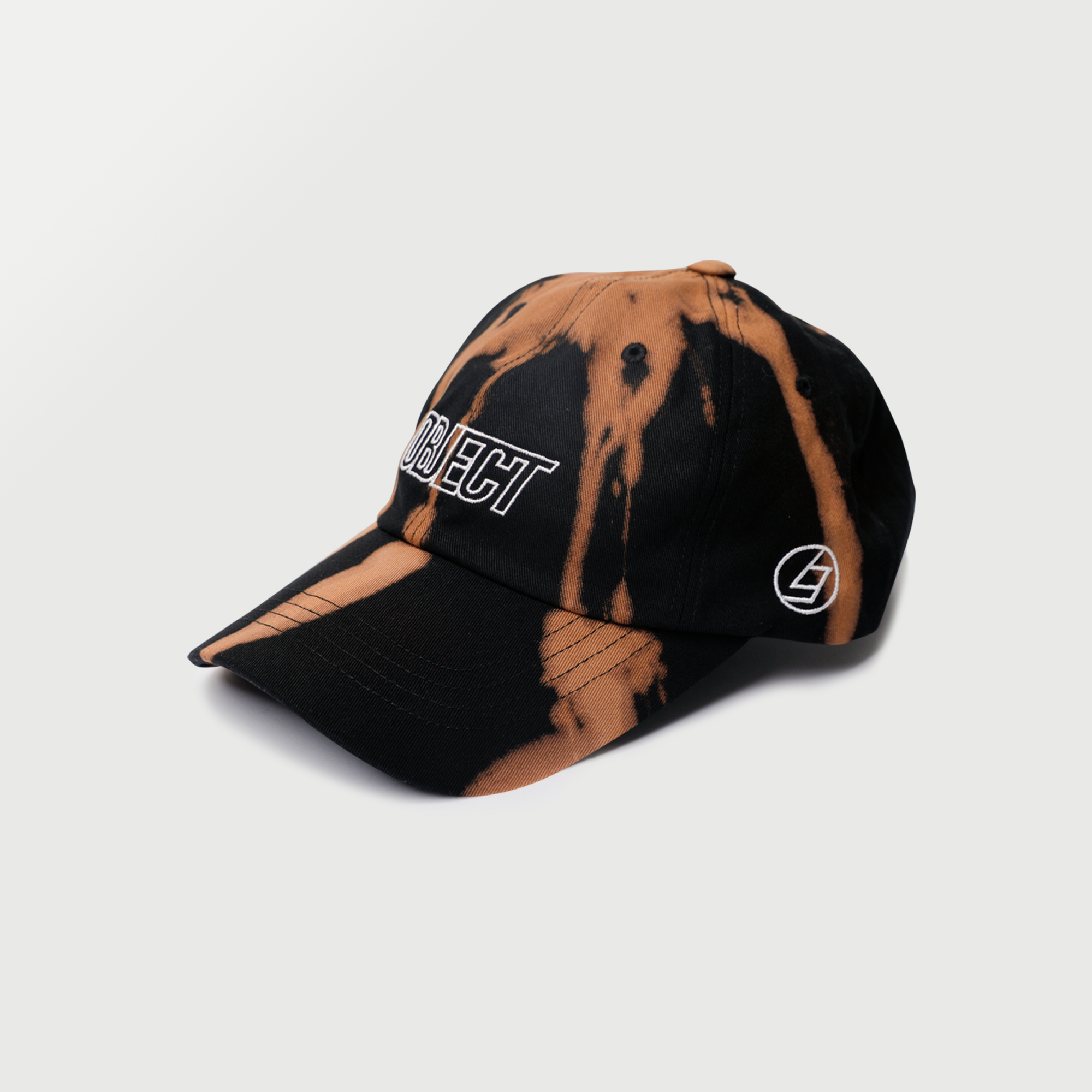 BLEACH OBJECT LOGO CAP (BLACK_WHITE)