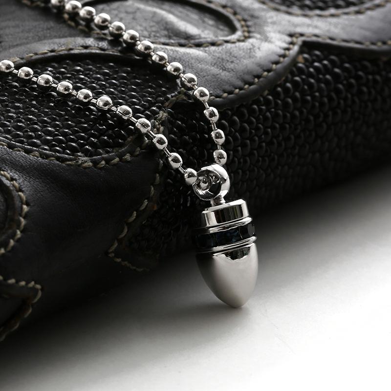 SVN-#126 silverbullet 은총알목걸이