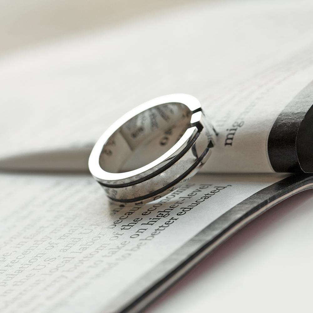 SVR-#S608 Cross Dugging Ring