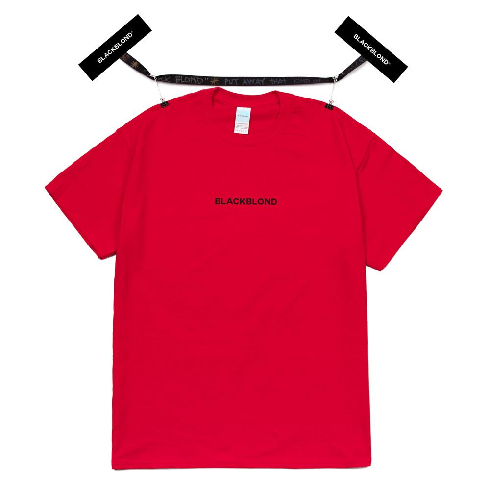 BBD Original Center Logo Short Sleeve Tee (Red)