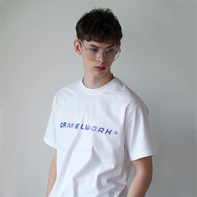 Basic Logo S/S T-Shirts(White)