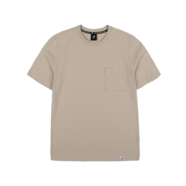Basic Pocket T-Shirt 2585 BEIGE