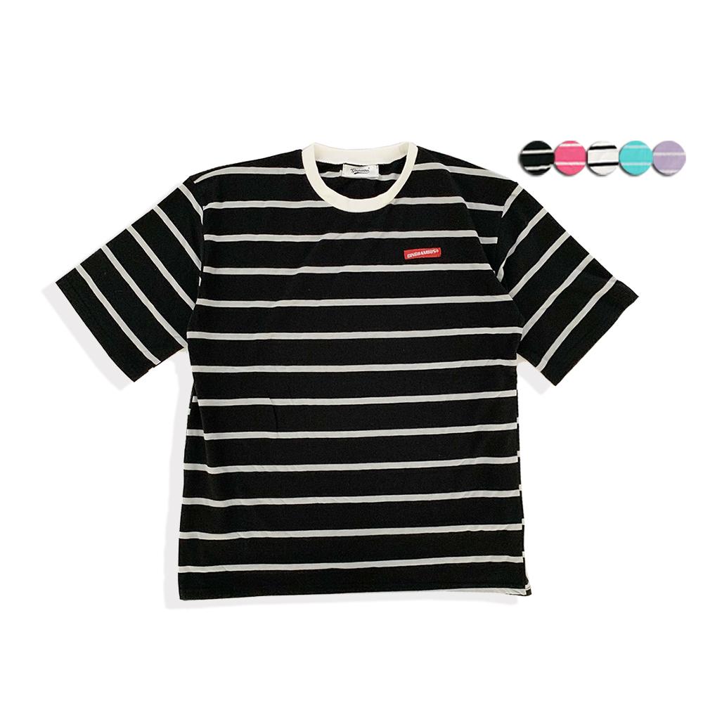 FRESH BORDER STRIPE T-SHIRT(6color)(unisex)