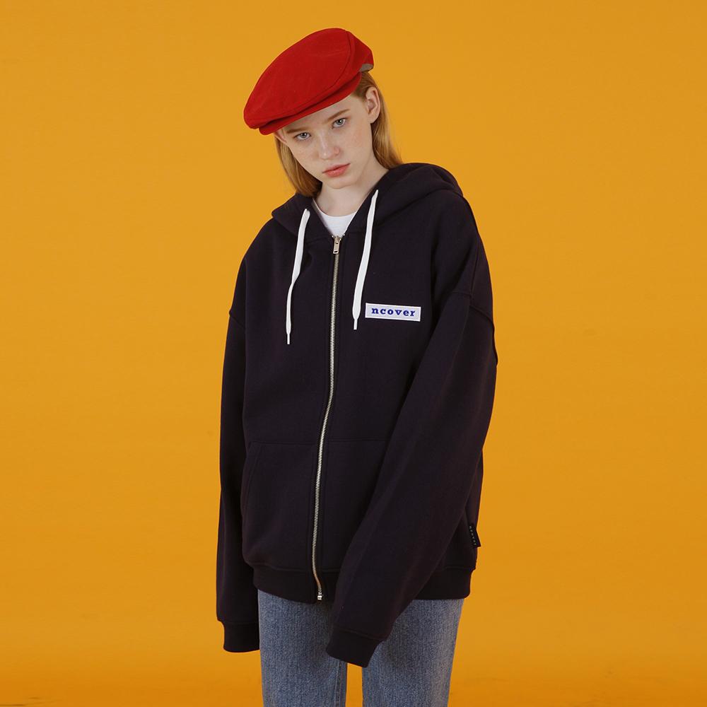[앤커버] Ncover hoodie zipup-navy