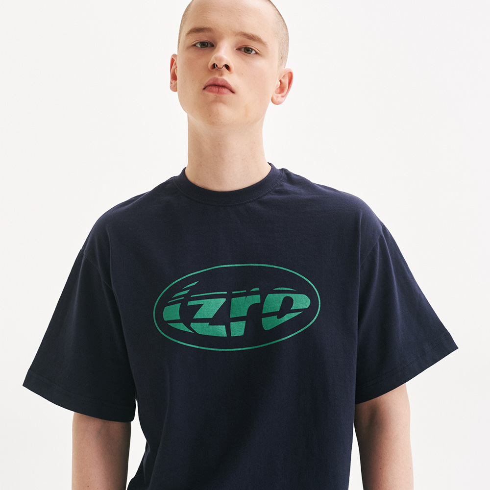 IZRO RUGBY BALL TEE - NAVY