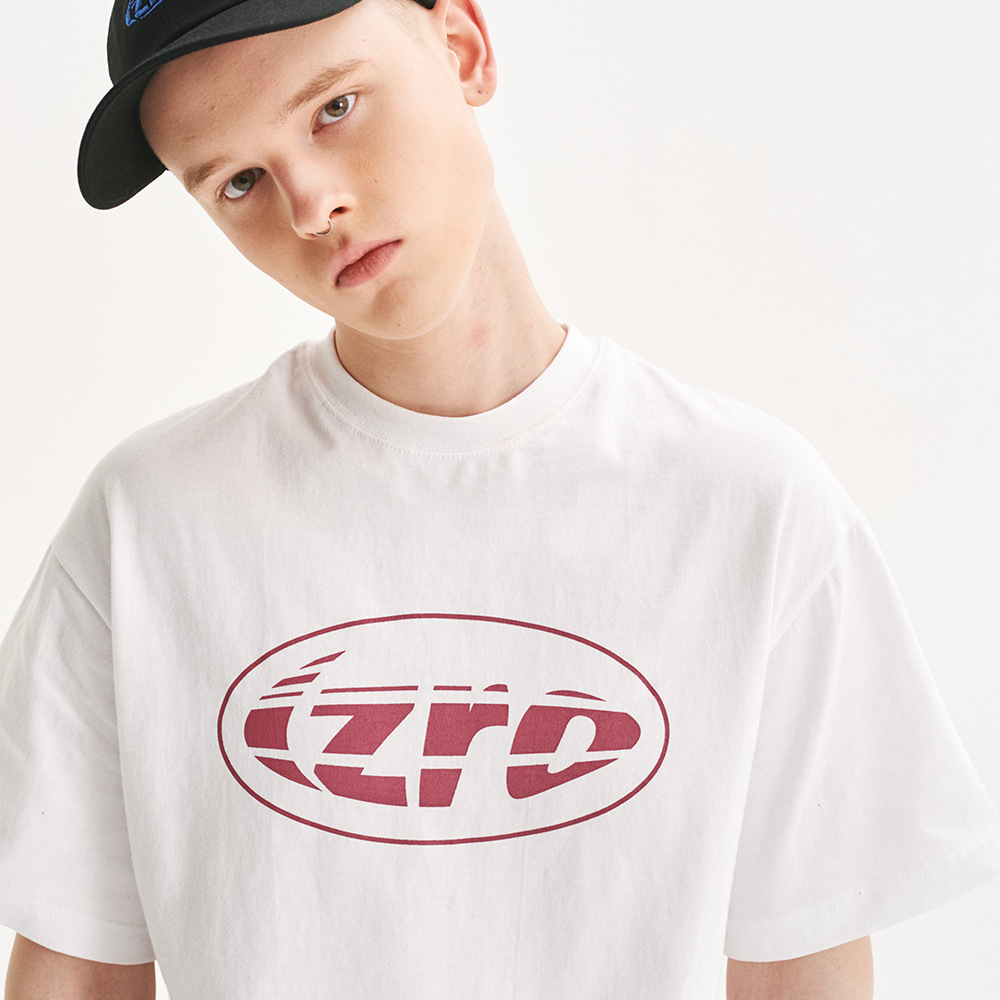IZRO RUGBY BALL TEE - WHITE