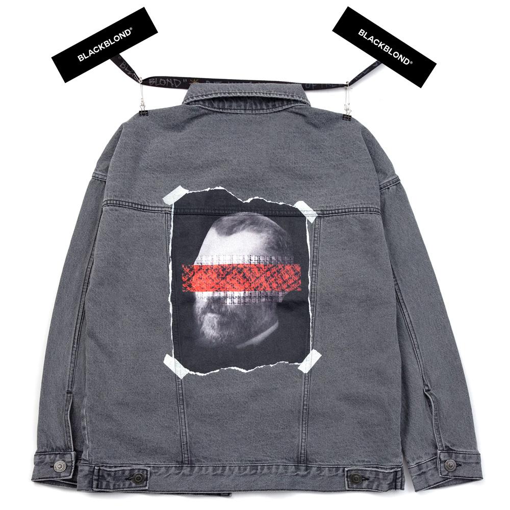 BBD Brutal Denim Jacket (Dark Gray)