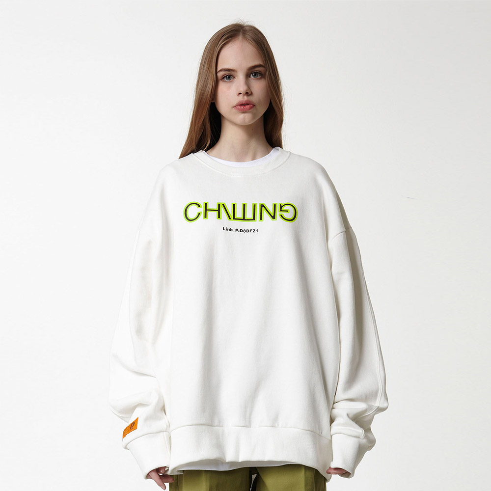 CHILLING_CREWNECK_OFF WHITE