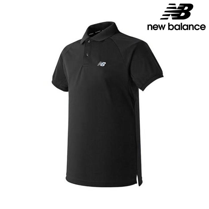 뉴발란스 NBNF82B703-BK 공용 폴리 피케 티셔츠 반팔티
