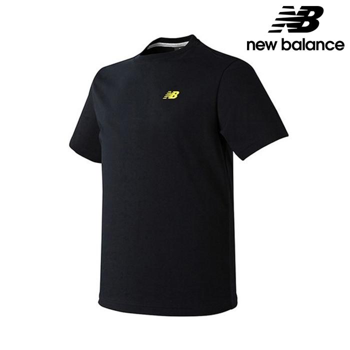 [국내배송]뉴발란스 NBNE82M293-BK 공용 220 포토 스몰박스 반팔티 티셔츠