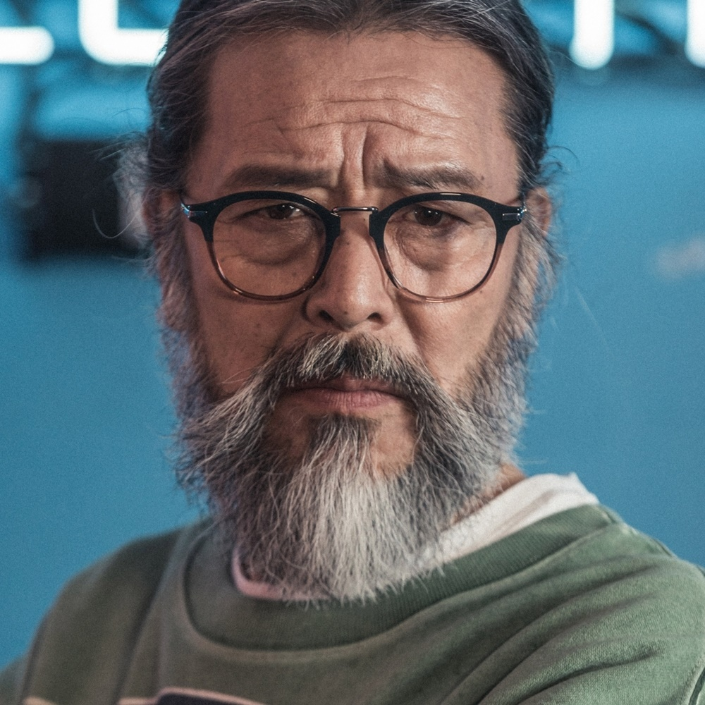 HAROLD blackfade 김칠두 남자 여자 투명 뿔테 수제 빈티지 명품 투명 안경테