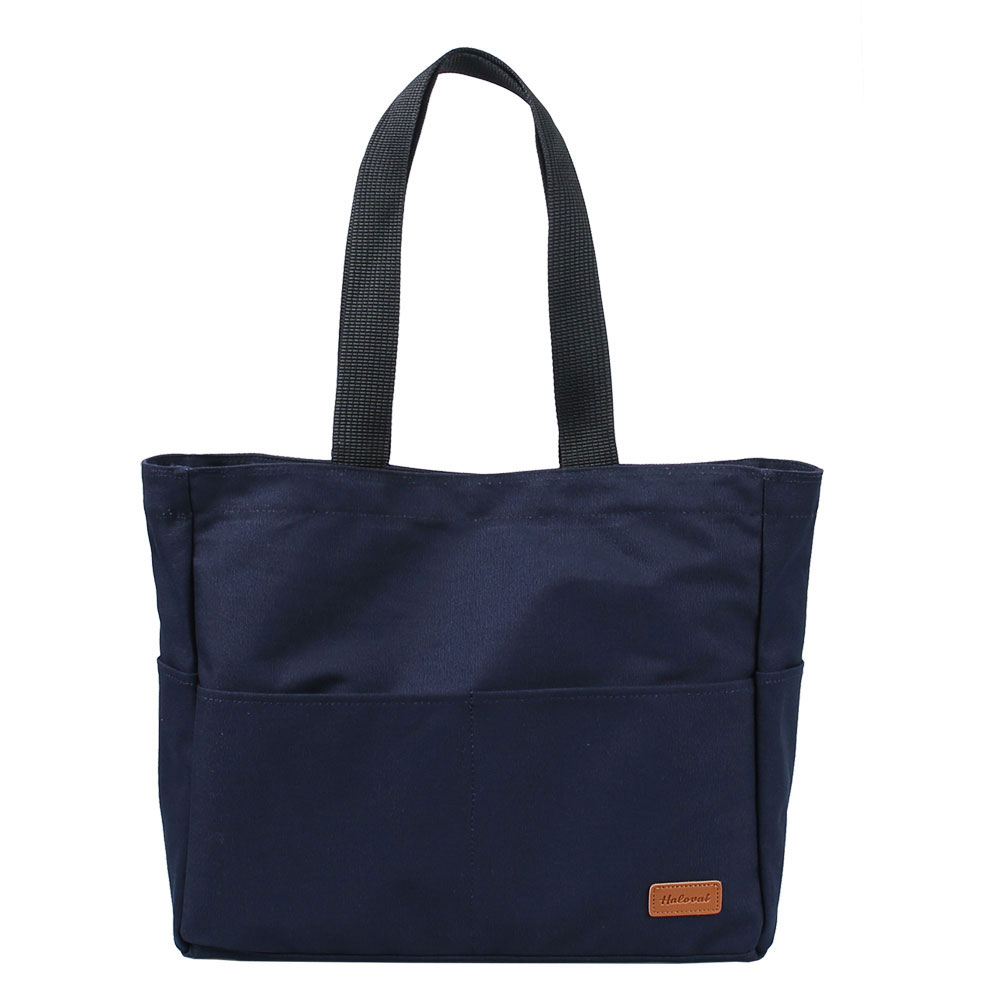 MORI TUMBLER CANVAS BAG /NAVY