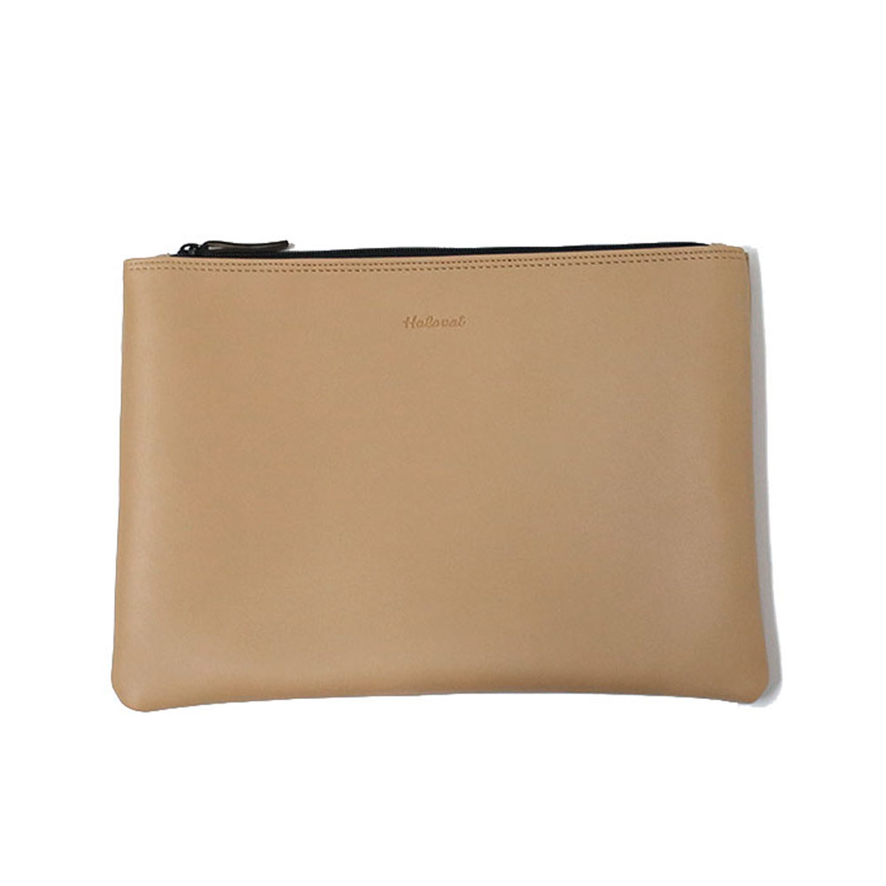 DAILY SIMPLE CLUTCH / BEIGE
