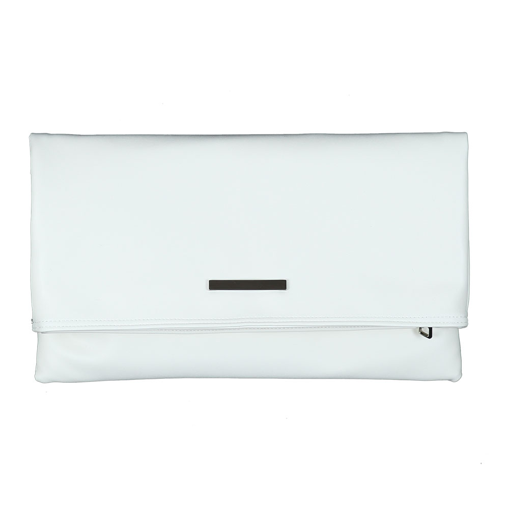 AO FOLDER CLUTCH BAG/ WHITE