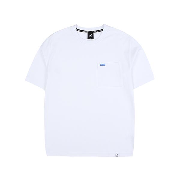 Oversized Pocket T-Shirt 2586 WHITE