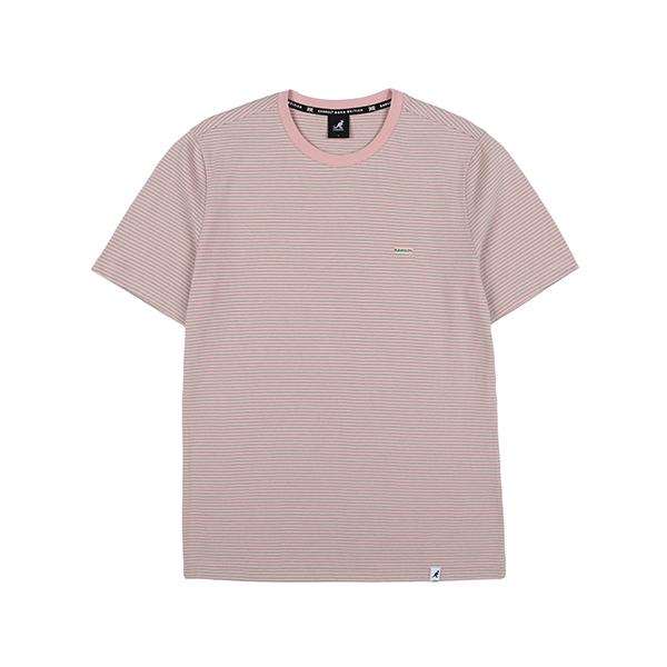 Fine Stripe T-Shirt 2587 PINK