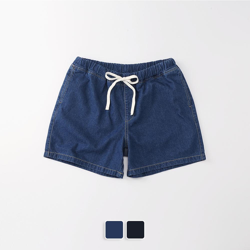 [단독할인]Denim Shorts (U19BBPT29)