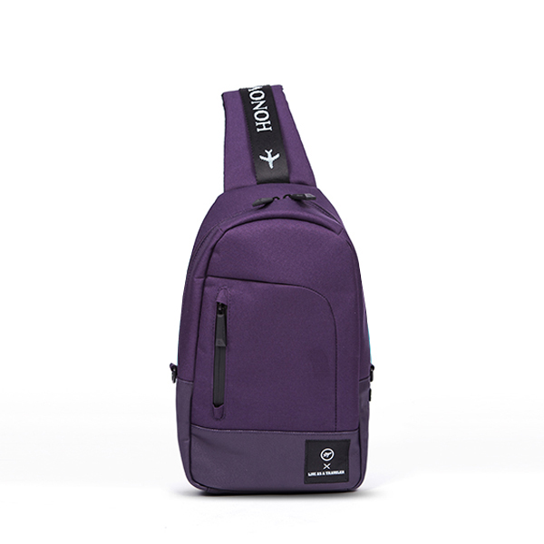 [비아모노] SPACE SLING BAG (PURPLE)