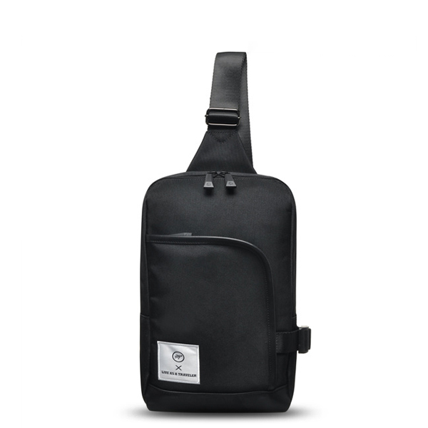 [비아모노] LETO SLING BAG (BLACK)